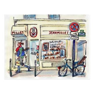 Patisserie Paris de millet de Jean par Carol Carte Postale
