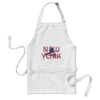 Patriote de New York de PIÈCE EN T Tablier