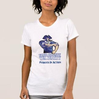 Patriotes dans le T-shirt d'action (blanc)