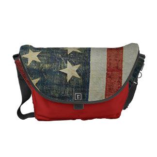 Patriotique affligé de drapeau américain besaces
