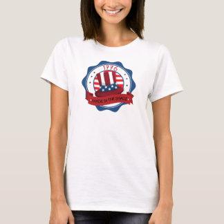 Patriotique fait à la nuance t-shirt