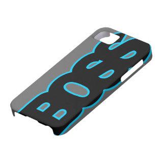 PATRON bleu au néon Coques Case-Mate iPhone 5