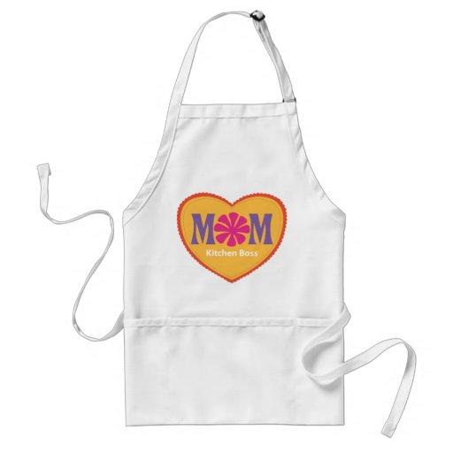Patron de cuisine de maman tabliers