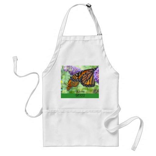PATRON de cuisine ! vacances de papillons de monar Tabliers