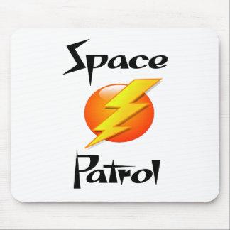 patrouille de l espace tapis de souris