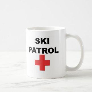 Patrouille de ski mug