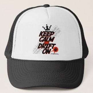Patrouille folle de dérive - gardez le calme et la casquette