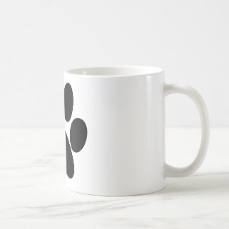 Patte animale mug blanc