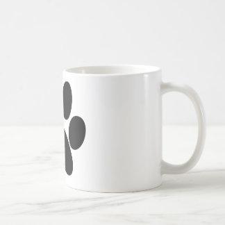 Patte animale tasse à café