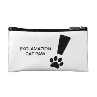 PATTE DE CAT D'EXCLAMATION ! Petit sac cosmétique