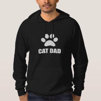 Patte de papa de chat pull à capuche