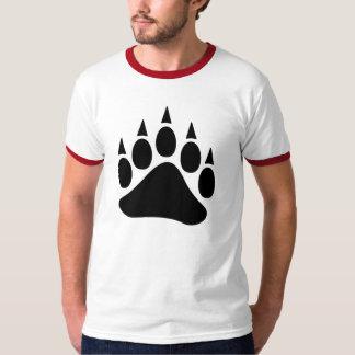 Patte d'ours de fierté d'ours noir t-shirt