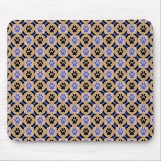 Patte-pour-Affaires Mousepad (cobalt) Tapis De Souris