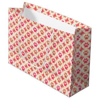 Patte-pour-Donnant le sac de cadeau (sangria)