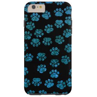 Pattes de chien, traces, empreintes de pattes, coque tough iPhone 6 plus