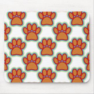 Pattes de chiot tapis de souris