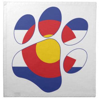 Pattes du Colorado Serviettes De Table