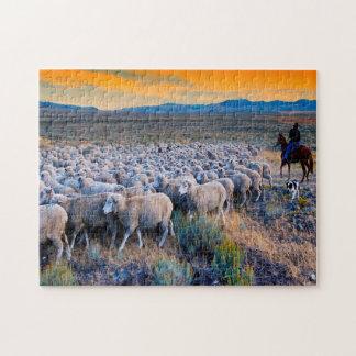 Pâturage de moutons de l'Idaho Puzzle