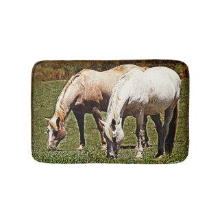Pâturage des chevaux tapis de bain