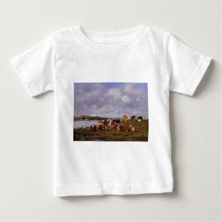 Pâturage, la vallée du Touques Eugene Boudin T-shirt