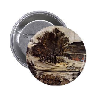 Paul Cezanne-Halle Vins aux., de rue de Jussieu Pin's