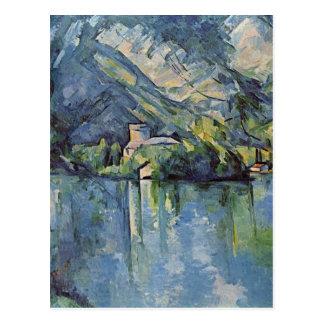 Paul Cézanne - lac annecy Carte Postale