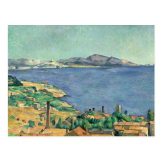 Paul Cezanne - le Golfe de Marseille Carte Postale