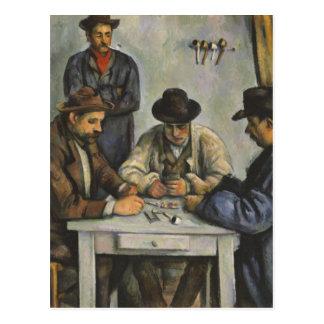 Paul Cézanne - les joueurs de carte Carte Postale