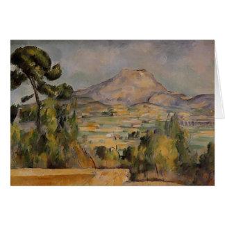 Paul Cezanne- Mont Sainte-Victoire Carte De Vœux