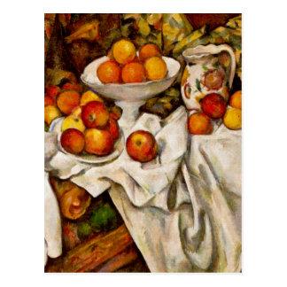 Paul Cézanne - pommes et oranges Cartes Postales
