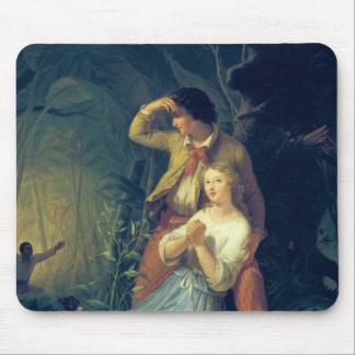Paul et Virginie Tapis De Souris