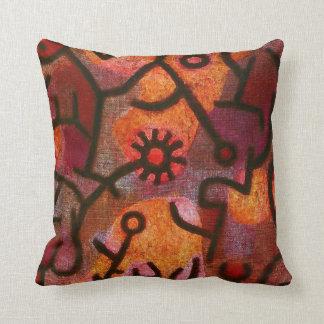 Paul Klee Flora di Roccia Pillow Coussin Décoratif