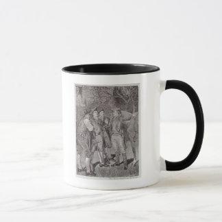 Paul Revere à Lexington Mug