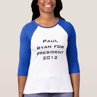 Paul Ryan pour le président 2012 T-shirt