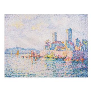 Paul Signac- Antibes, les tours Cartes Postales