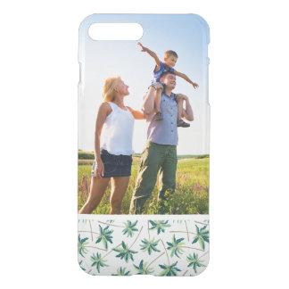 Paume australienne tropicale de vulpin de photo coque iPhone 7 plus