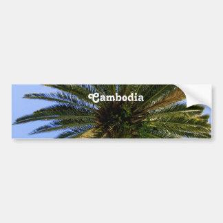 Paume du Cambodge Palmya Autocollant De Voiture