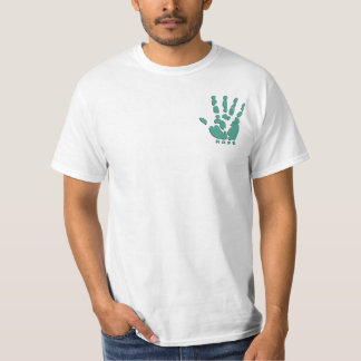 Paume humanitaire t-shirt