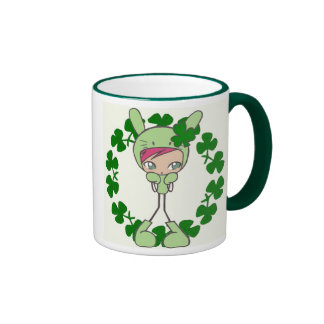 pause-café verte mug ringer