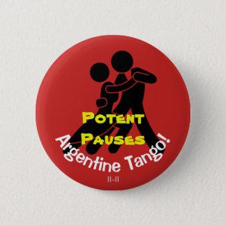 Pauses efficaces ! Tango argentin Badges
