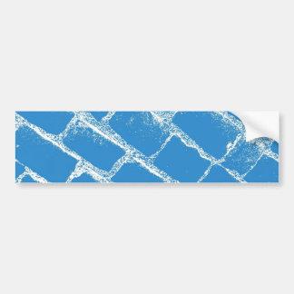 Pavés bleu-clair autocollant pour voiture