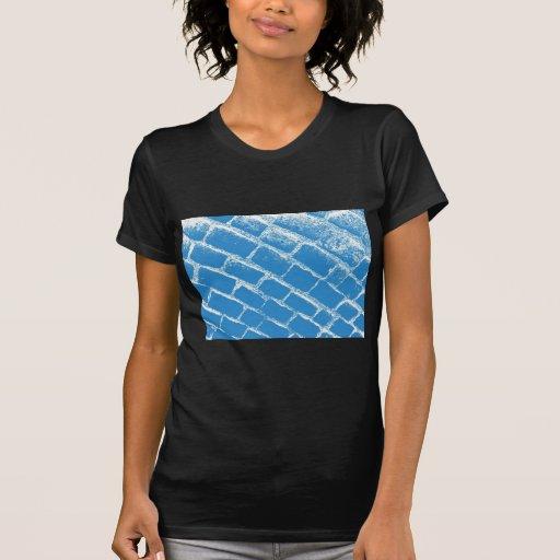 pavés bleu-clair renversés t-shirt