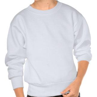 pavés bleu-clair renversés sweatshirt