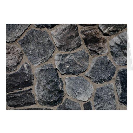 Pavés gris-foncé carte