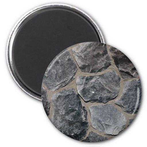 Pavés gris-foncé magnets pour réfrigérateur