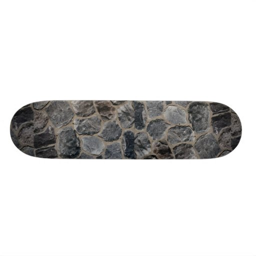 Pavés gris-foncé skateboards personnalisés