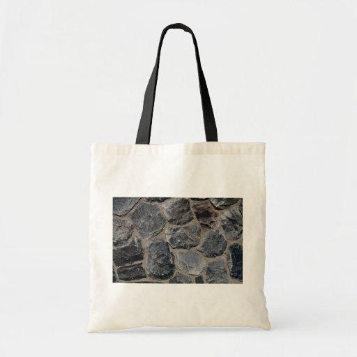Pavés gris-foncé sacs