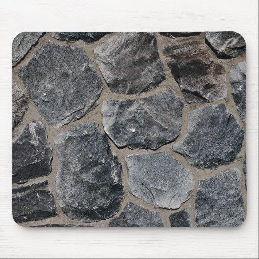 Pavés gris-foncé tapis de souris