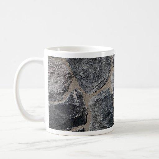 Pavés gris-foncé tasse