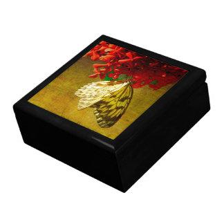 Pavillon de papillon - cerf-volant de papier - boîte à souvenirs